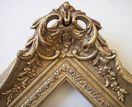 Genesis Fine Arts | swept frame | hand made picture frames | picture ...